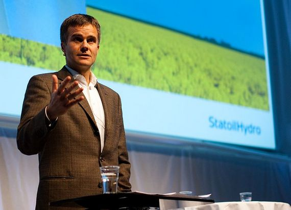 Helge Lund, CEO StatoilHydro