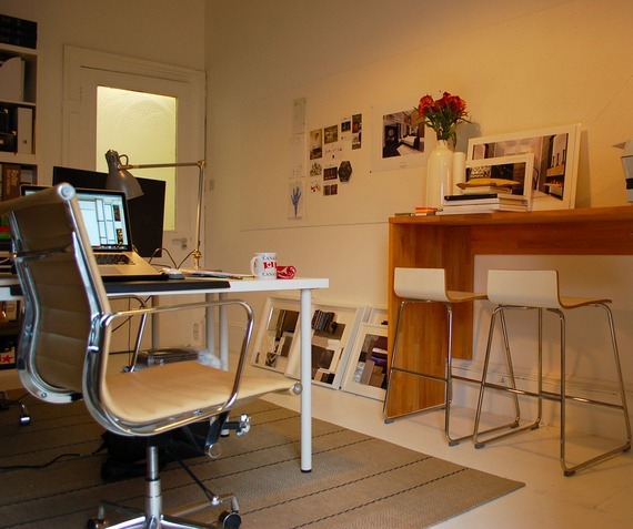 Create a functional office space at home