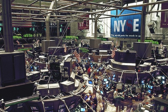 Stock exchange market in New York
